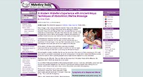 Midwife abdmoninal therapy
